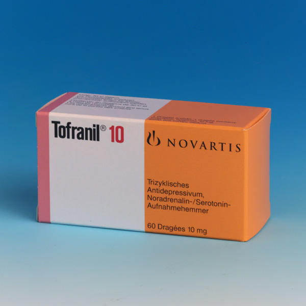 Are there any problems with taking tofranil (imipramine) and sodium valproate at the same time?