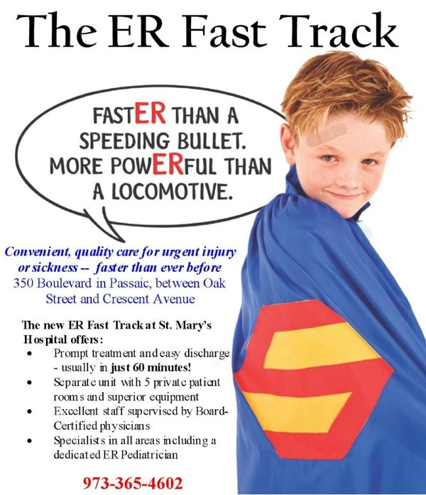 What's the fast track system at an er?