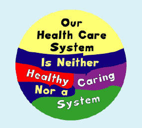 Who all is in the health care sector or system?