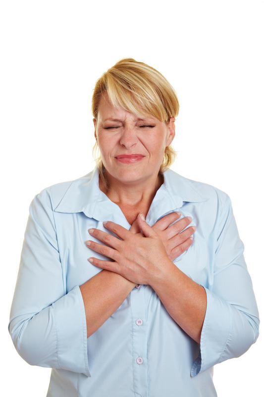 I am having cramps and pain in my left breast and heartburn. I have been taking meds for heartburn but nothing is working. What should I do?