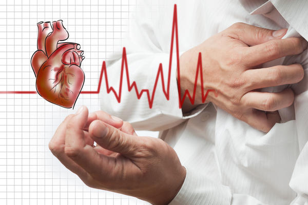 What is the cause of  heart attack in a previously normal 65 aged person?