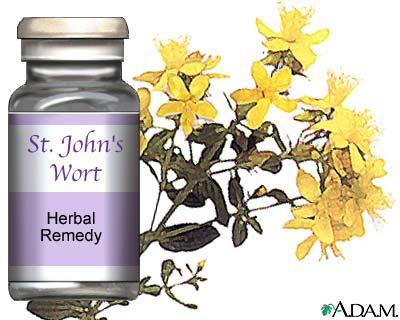How does st. John's wort work?