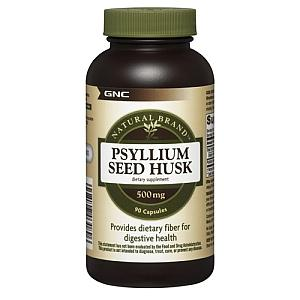 Does taking psyllium fiber supplements effect nutrient absorbance?