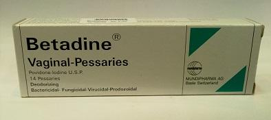 Is povindone iodine vaginal pessaries safe to use at 39 weeks pregnancy. What are the side effects to fetus and any alternative for it. ?