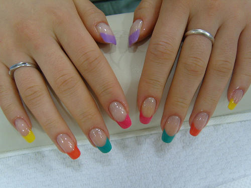 What are artificial nails made from?