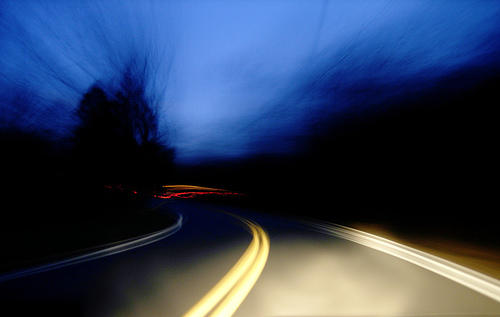 Does driving at night affect my eye sight?
