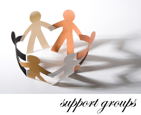 Can you give me a list of support groups in my area?