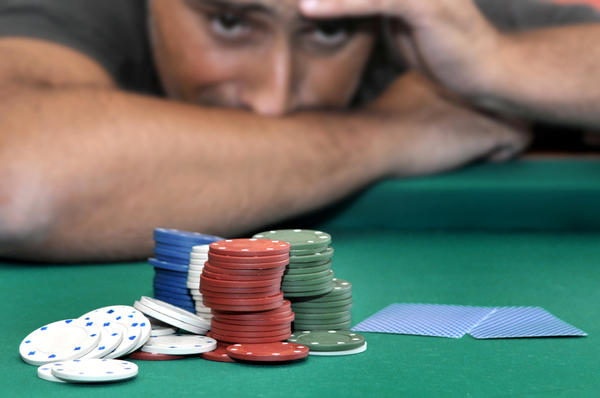 Does a physical addiction like gambling affect the body the way meth addiction does?