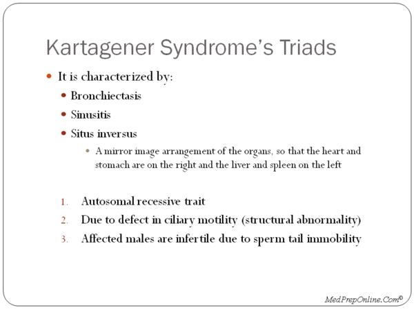 I have a son with kartageners syndrome and want to know other peoples experience with this.?