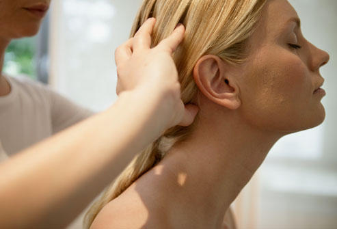 How do you get rid of a tension headache without pills?