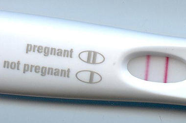 Plan b taken beginning of month. A week late for period and feel bloated? Pregnancy test was negative but no period received
