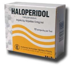 I have just been prescribed haloperidol:15mg a day. Can haloperidol cause sedation/tranquilization?