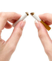 What are the treatments for nicotine addiction?