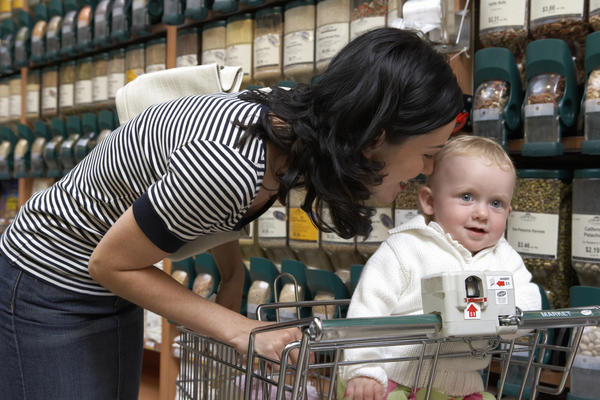 What do I do when my child has a tantrum in the grocery store?