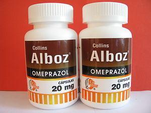 What is alboz in alboz omeprazole stands for?