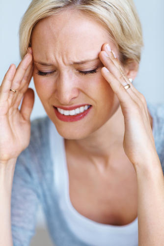 What could cause bad headaches and neck aches?