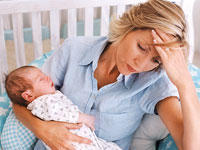 How long would post partum depression last?