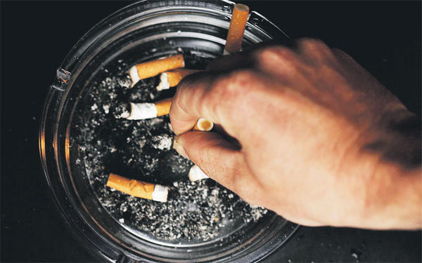 What causes nicotine addiction?