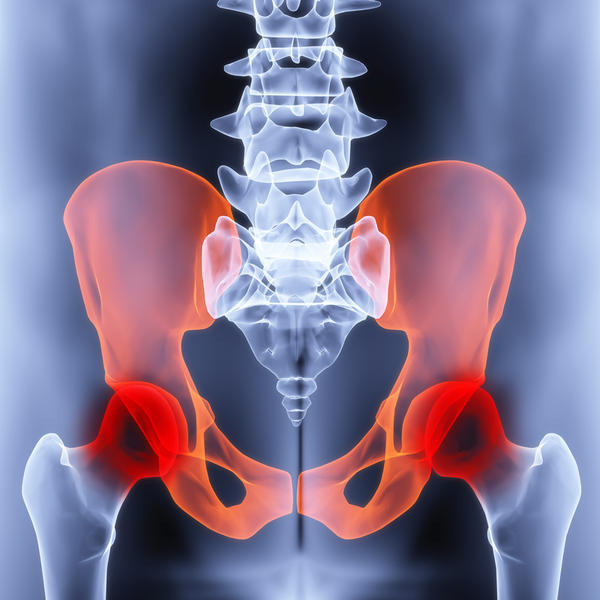 How long does pain associated with separation of the symphysis pubis last?