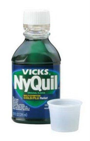 Can you take nyquil on levofloxacin?