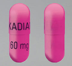 Does kadian (morphine) have an opiate blocker in a 80mg capsule?