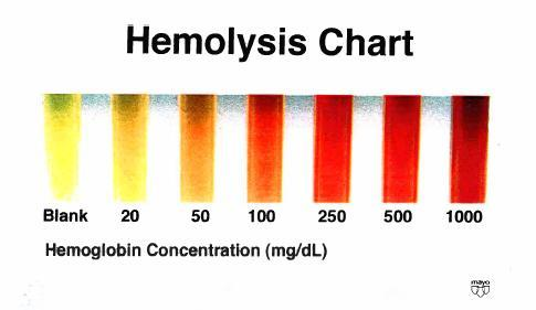 So hemoglobin floats freely in the blood plasma where it imparts the red color to human blood?