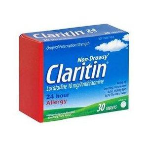 What is the appropriate Claritin (loratadine) (allergy prescription) consumption?