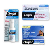 Which is more effective anbesol oral anesthetic or oragel?