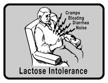 I think I have a lactose problem, I experience all te symptoms of lactose intollerance, but they are ten times worse at night is this normal?