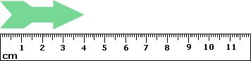 What is 4 centimeters?