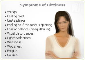 How can I cure dizziness after gall bladder surgery?