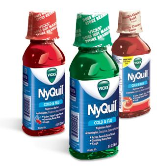 Is it okay to take nyquil and a pain reliever pill at the same time?