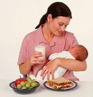 What to eat while breast feeding for good milk?