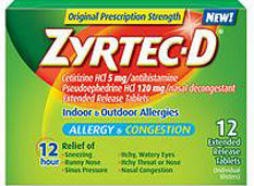 Can you take zyrtec (cetirizine) and sudafed together?