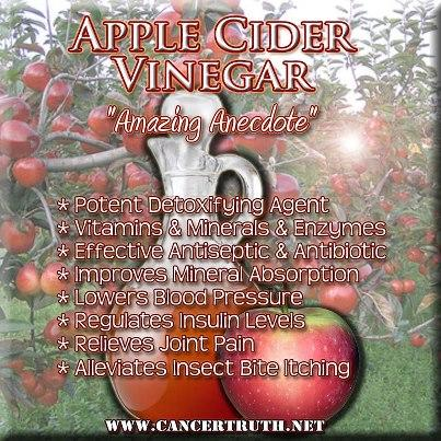 Why and how would unfiltered apple cider vinegar have a positive effect on my health?