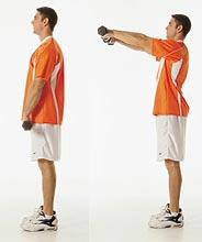 How do you strengthen a weak deltoid on shoulder ?