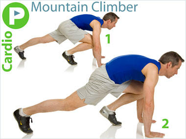 Is moutain climber exercise safe for beginners?