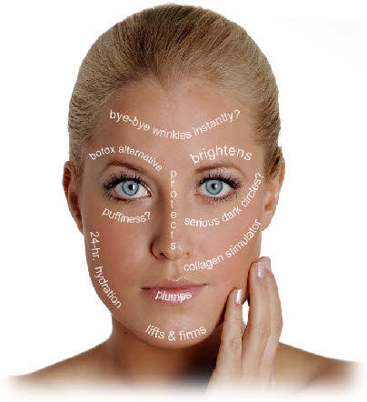 Are grape seed extract and other supplements effective against skin aging?
