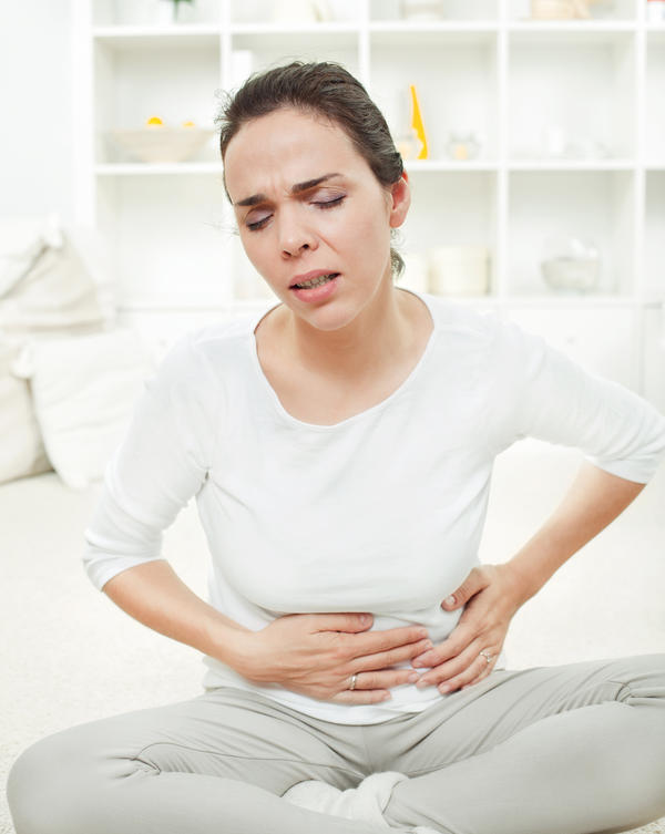 What can I do to get rid of stomach pains after eating?