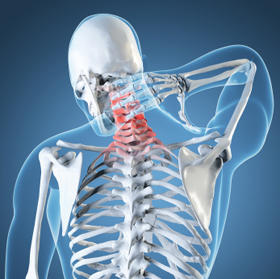 What might lead to neck pain left side of neck?