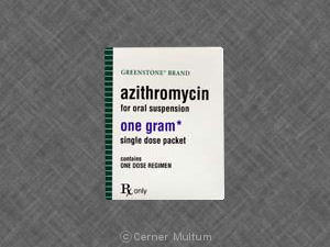 How long does it take to clear up from chlaymydia after 4 pills of azithromycin?