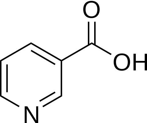 How much niacin can be taken daily for lowering cholesterol?