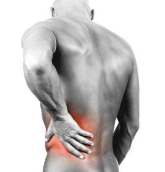 What is the cause of lingering lower back pain?