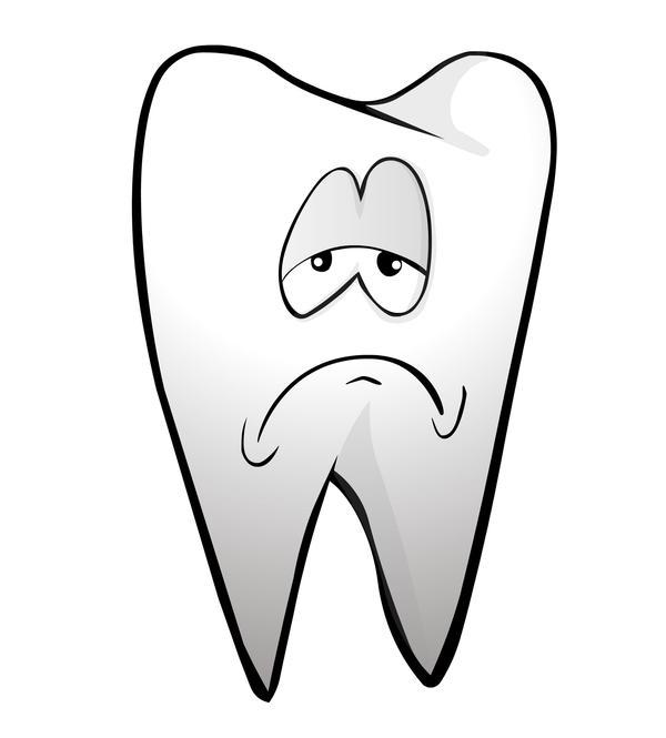 My tooth hurts whenever I eat or drink something cold. What does that mean?