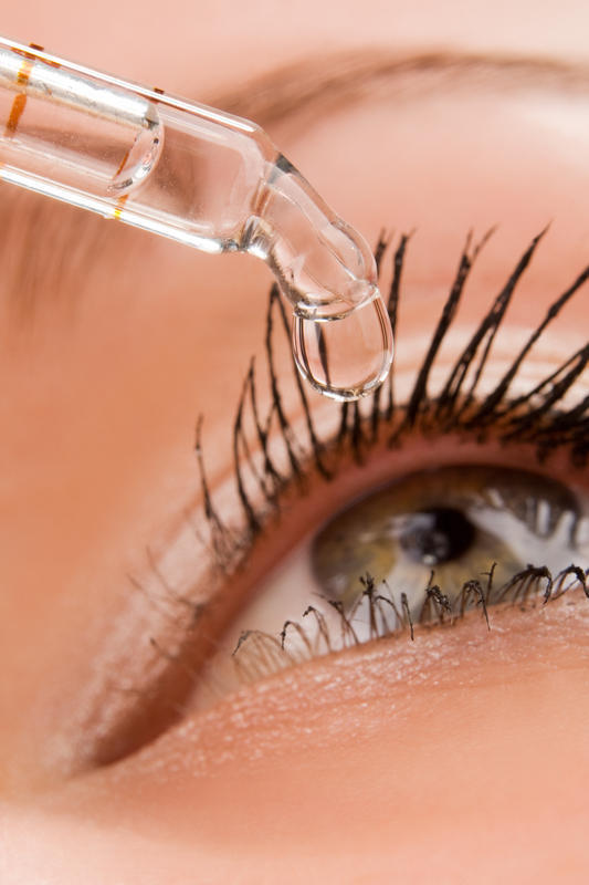 What should I do if I have an eye infection?