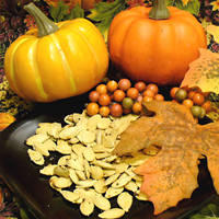How much pumpkin seeds should I eat before I sleep to produce enough melatonin?