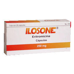 Is it possible to buy some ilosone (erythromycin estolate) without prescription?