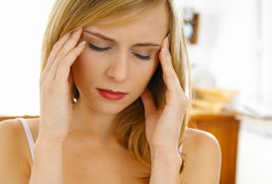 Is it normal to have a headache days after a d and c?