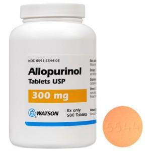 How effective is allopurinol to avoid gout?