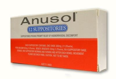 Has anyone ever taken this medication called anusol?